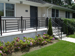 Residential railing system photo